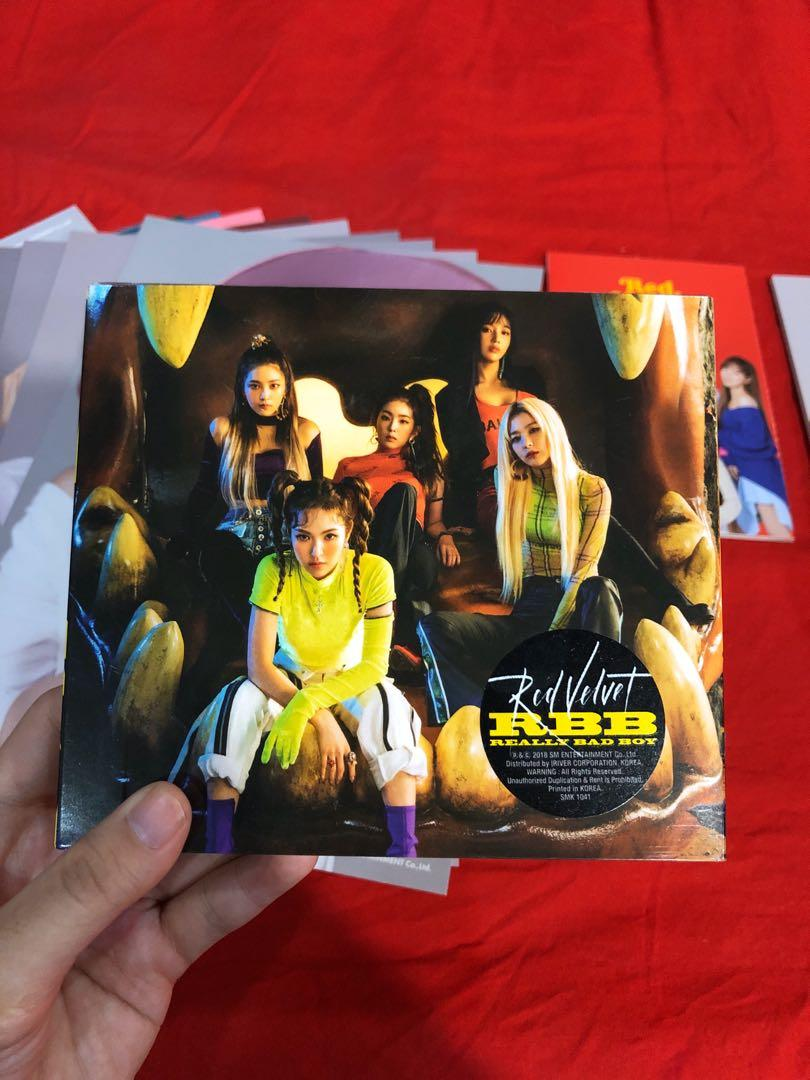[WTS] RED VELVET ALBUMS AND 2019 SEASON GREETINGS LOOSE