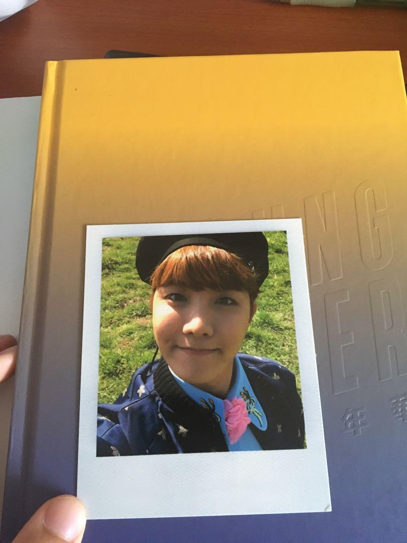 Young Forever Album with J-hope PC including folded poster