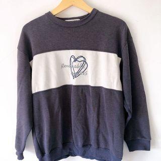 Sweater, crewneck, sweetshirt wanita