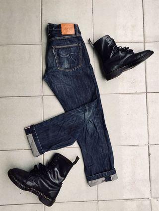 Mommo company selvedge jeans 👖 15 oz