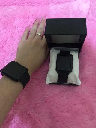 Jam Tangan led black