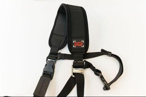 【FOTOSPEED】相機 專業 減壓背帶 相機背帶 型號:F4