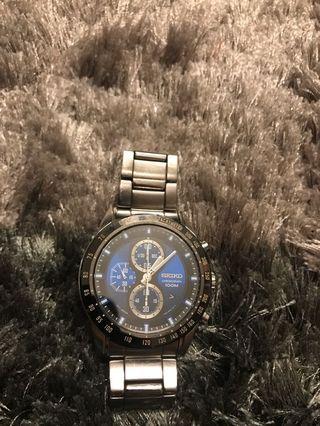 Seiko Chronograph 7T92-0RF0 Saphire Crystal