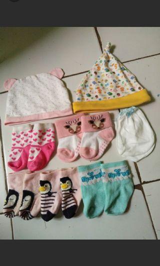 kaos kaki bayi / topi baby