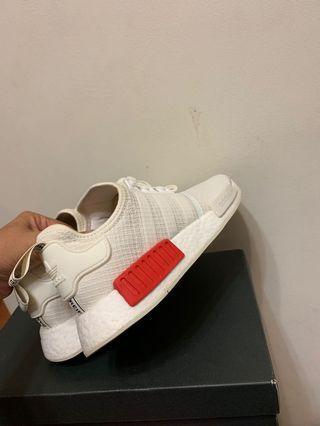 Adidas NMD R1 米白紅