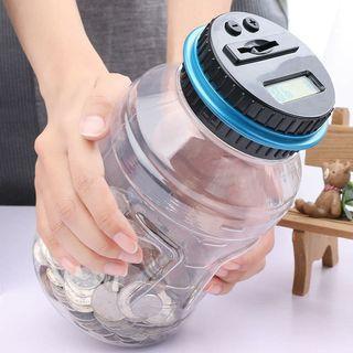 創意自動計數存錢桶/存錢罐~台幣款  顏色隨機