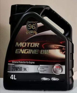Engine Oil 20w50(minyak hitam