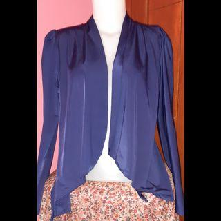 NAVY CARDIGAN OUTER