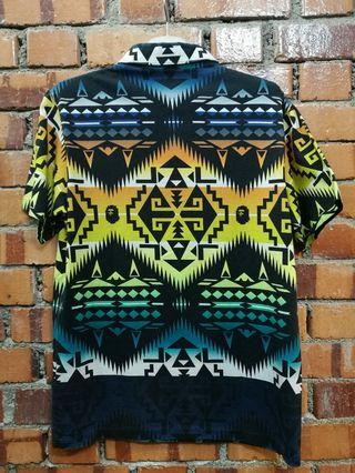 RARE Bape native collar shirt