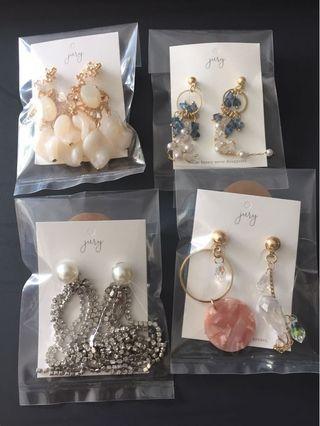 Anting Korea(Silver) Sale
