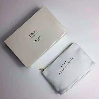 chanel coco pouch authentic vip gift