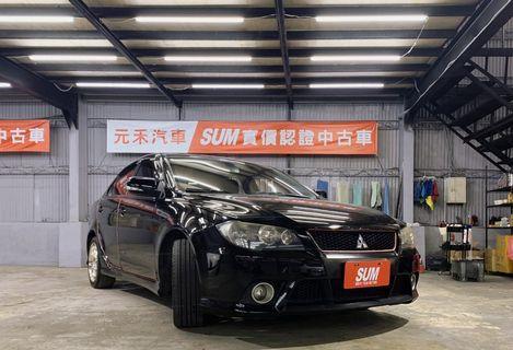 2011 Mitsubishi Lancer Fortis 1.8 象牙黑 非自售 代步車 實車實價