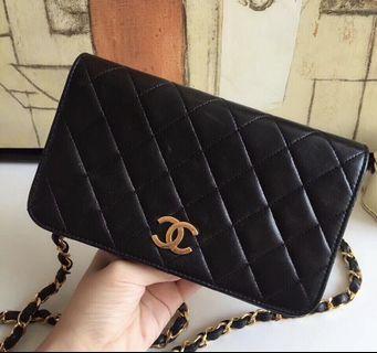 Authentic Chanel classic vintage woc