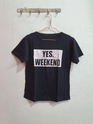 Tumblr Tee Yes Weekend