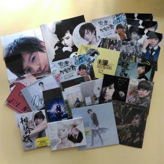 全新二手張芸京國語CD專輯海報書冊月曆 全附親筆簽名