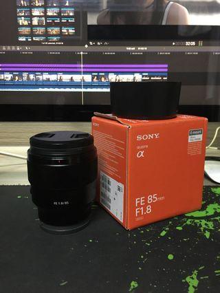 sony FE 85mm f1.8 (水貨)
