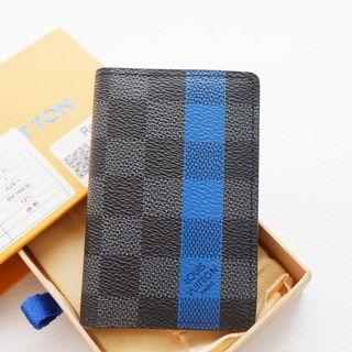 LV card holder wallet authentic leather