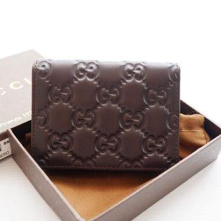 Gucci wallet pocket authentic leather