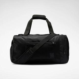 """""""ONE SERIES TRAINING BAG"""" Reebok 全新 黑色 鞋夾層 行李袋 旅行袋 肩背包 運動包 健身包 訓練包 裝備袋 EC5473"""