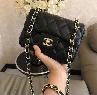 chanel mini authentic vip gift bag