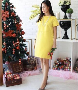 Yellow Dress  Zara