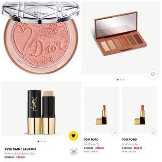 正品預購 限時特價 Dior打亮 ysl粉底條...等