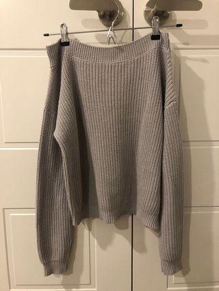 Off shoulder Glassons knit