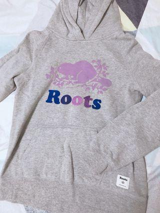 Roots童裝帽T