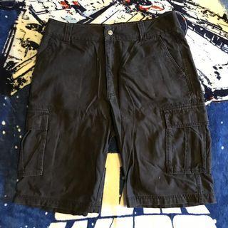 Baleno黑工作短褲