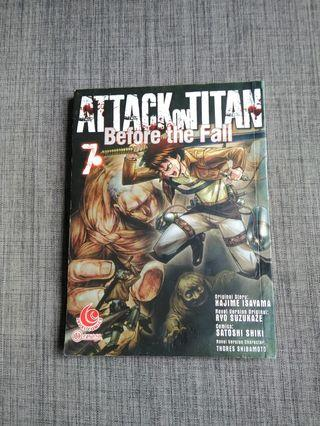 Attack On Titan Before The Fall (Vol. 7)