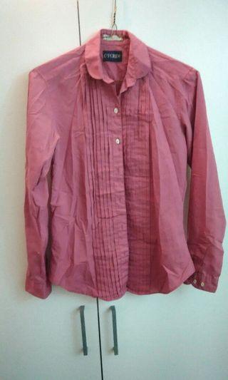 沙漠玫瑰色襯衫