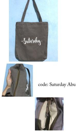 Totebag Saturday