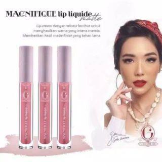 lip cream Madam Gie Magnifique Lip Liquide Matte Classic bpom original