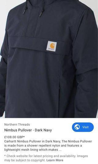 Carhartt 衝鋒衣