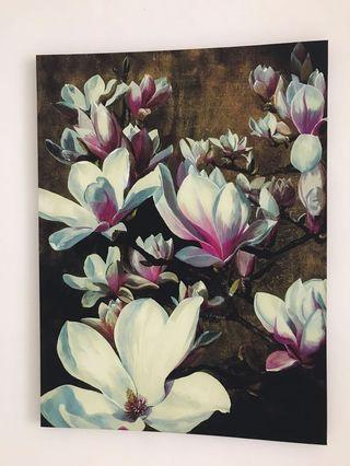 Picture Frame gambar lukisan flower bunga