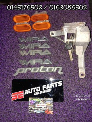 emblem wira / proton signale leper lock gear