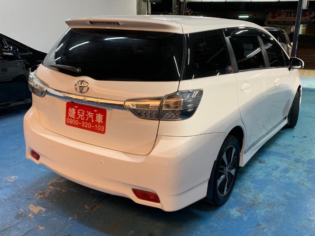 正2013年 頂級末代Toyota Wish 2.0 免鑰匙電動椅HID頭燈