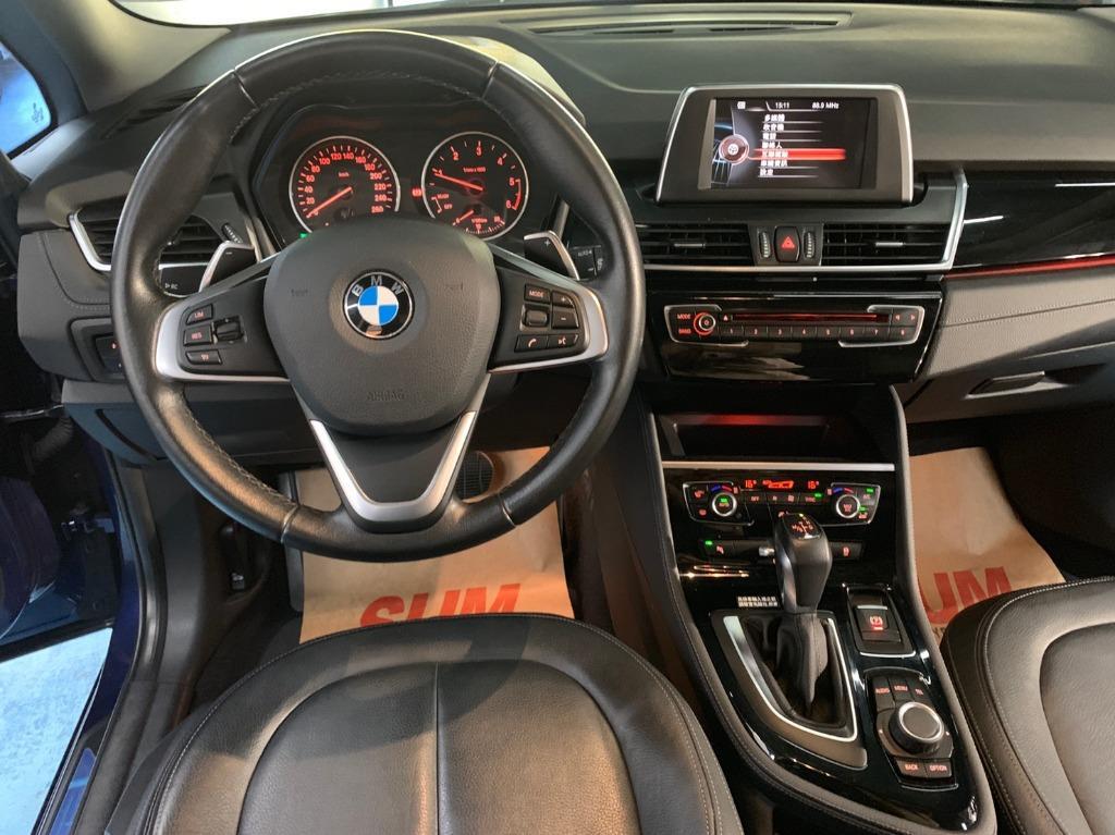 正2015年底出廠 總代理 BMW 218D Gran Tourer 7人休旅車