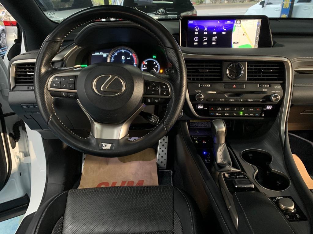 正2016年9月出廠 總代理Lexus RX200t 2.0F-Sport 頂級旗艦運動版