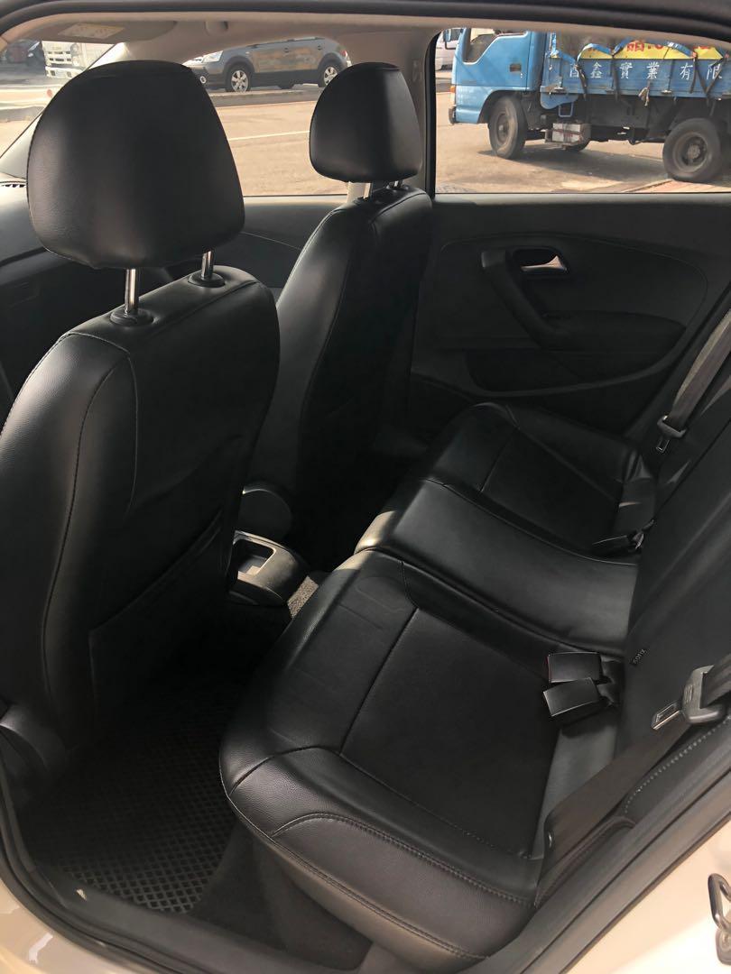 2017年 VW POLO 1.6 Confortline 一手中科女主管用車 全車原漆原鈑件 原廠保固中 低里程實跑1.5萬公里左右