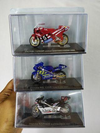 Champion Bikes Collection  Brand Deagostini diecast