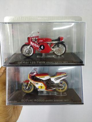 Motorbike deagostini champion 1:24