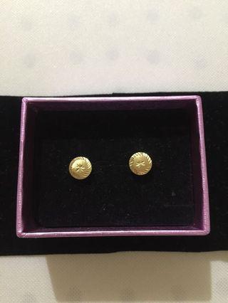 Gold Earings ☺️❤️