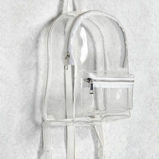 LOOKING FOR Transparent/Jelly/Vinyl/Clear Backpack