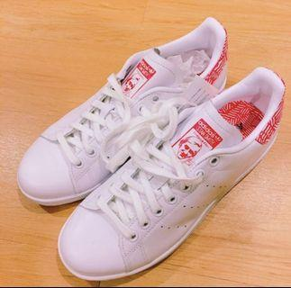 adidas original Stan smith 超美紅色花紋✨