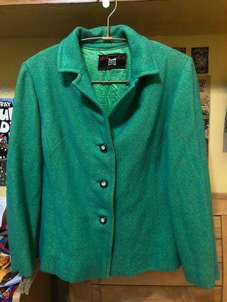 古著翠綠色外套