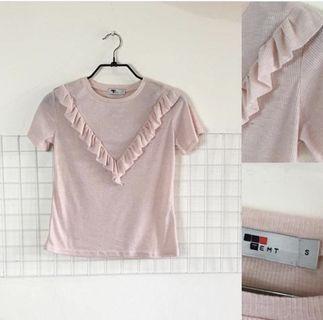 Kaos Pink Temt Size S