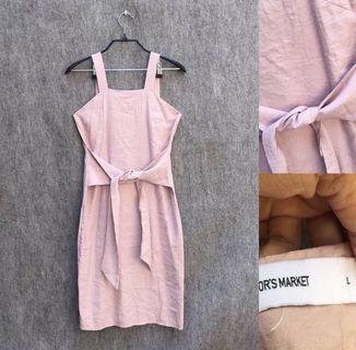 Dress Pink The Editor's Market Size L #promosidress