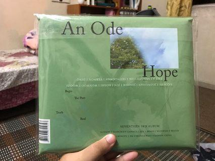 seventeen ode to you album hope ver
