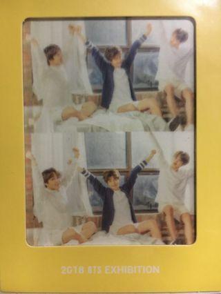 BTS EXHIBITION BOOKMARK